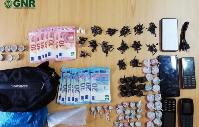 Homem foi detido em Sines com 1 500 doses de droga