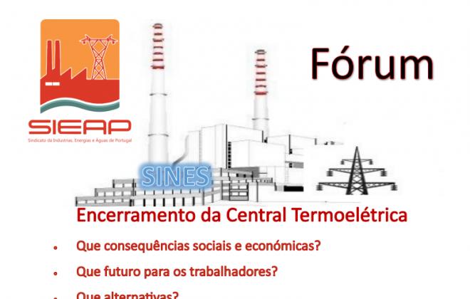 CAS recebe Fórum sobre o encerramento da Central Termoelétrica de Sines