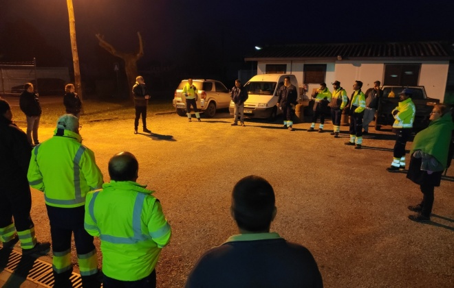 Vítor Proença visita instalações dos Serviços de Resíduos e Limpeza