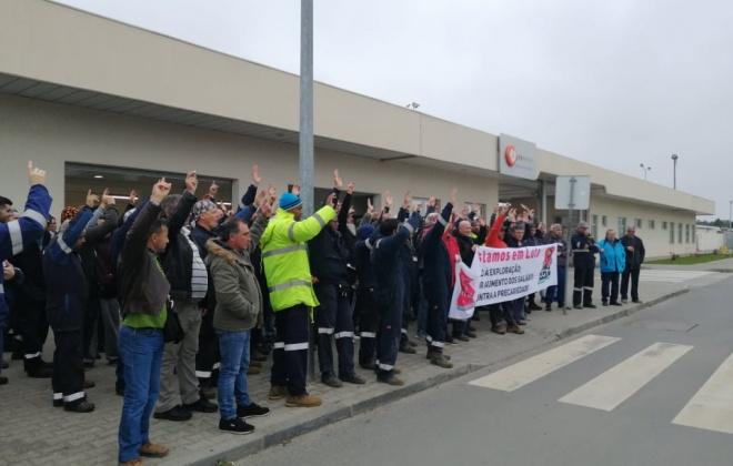 PCP denuncia o despedimento de centenas de trabalhadores em Sines