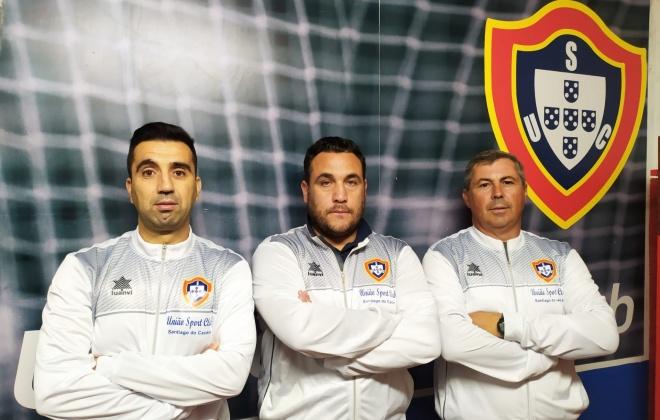 Vítor Madeira é o novo treinador do União de Santiago do Cacém