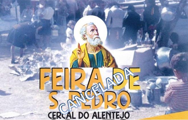 Feira de São Pedro em Cercal do Alentejo foi cancelada