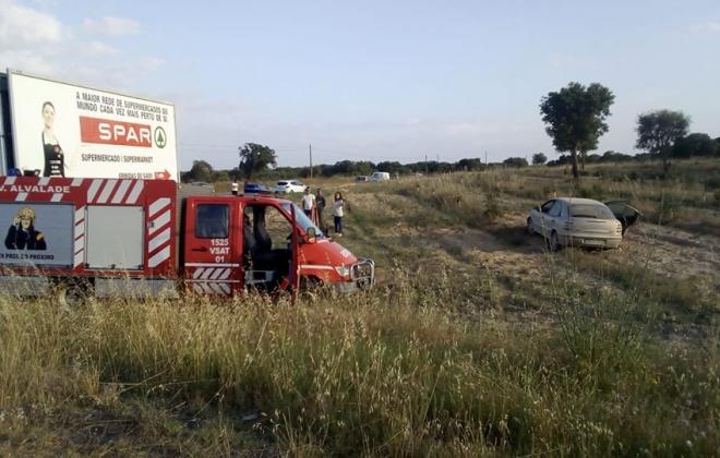 Despiste provoca ferido ligeiro em Ermidas-Sado