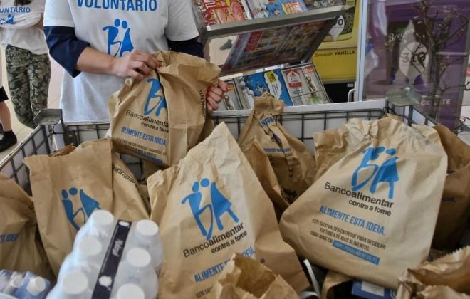 Banco Alimentar angaria 1,4 ME em donativos