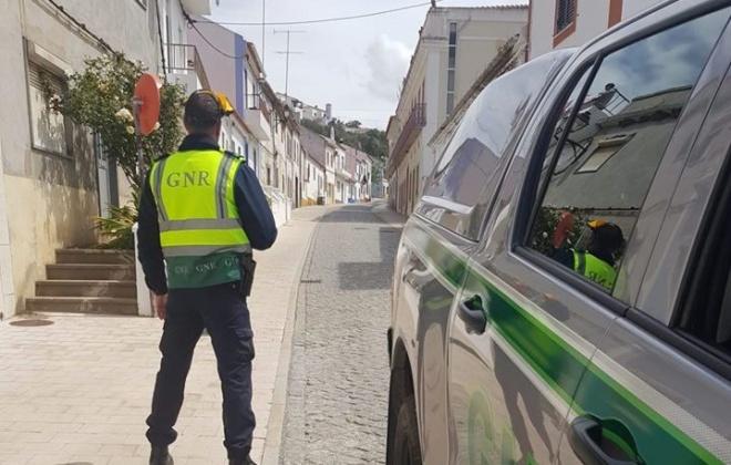 GNR deteve homem em Ferreira do Alentejo por furto em residência