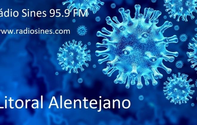 Litoral Alentejano com 32 casos ativos de Covid-19