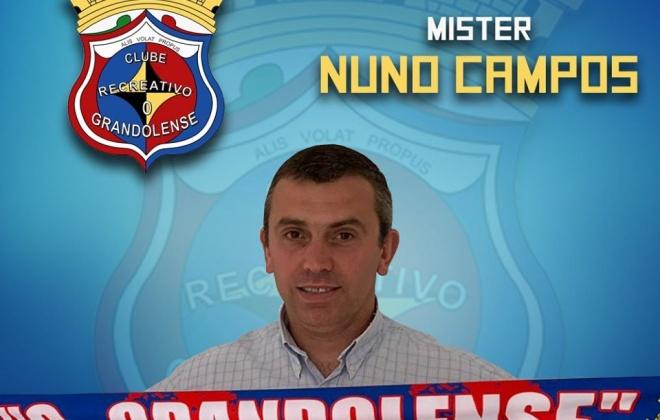 Nuno Campos treina a equipa Sub-23 do Grandolense