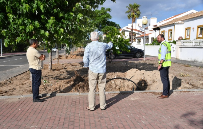 Autarcas acompanham obras em Vila Nova de Santo André