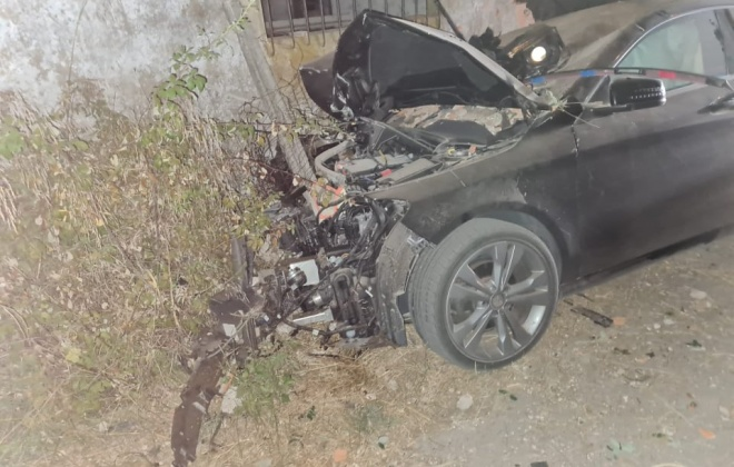 Despiste provoca cinco feridos esta madrugada em Grândola