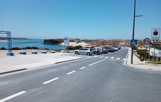 Já reabriu ao trânsito a marginal de Vila Nova de Milfontes