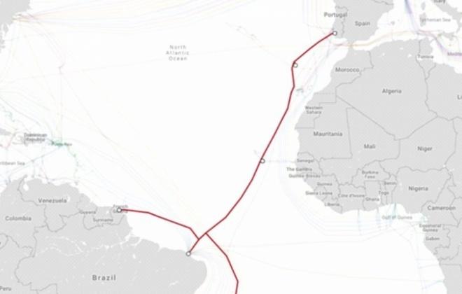 """Sines declara cabo submarino do consórcio EllaLink de """"interesse municipal"""""""