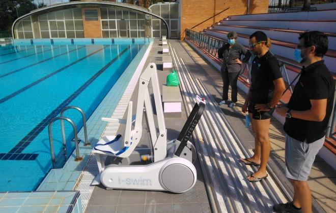 Alcácer do Sal instala cadeira elevatória na piscina do Torrão