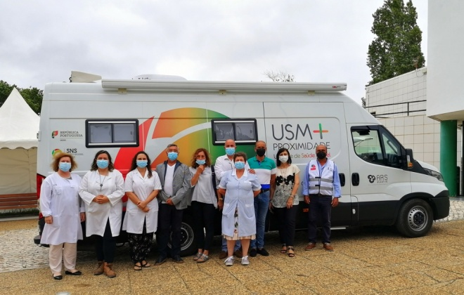 Município de Aljezur apresenta Unidade de Saúde Móvel de Proximidade