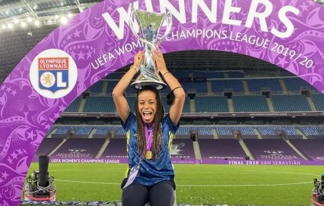 Jogadora de Milfontes sagrou-se campeã da europa pelo Lyon