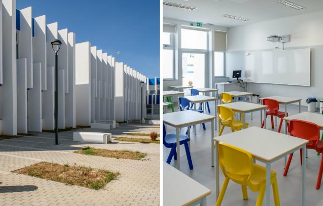 Novo Centro Escolar de São Teotónio abriu hoje com 188 alunos