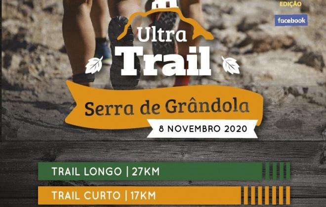 6.ª edição do Ultra Trail Serra de Grândola realiza-se a 8 de novembro