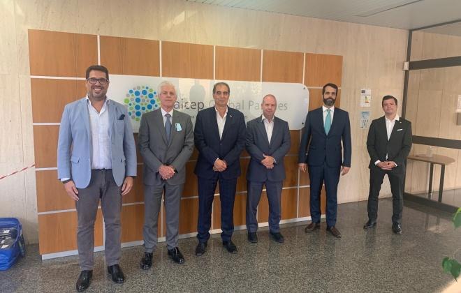 Representantes do setor do agronegócio visitaram a ZILS - Zona Industrial e Logística de Sines