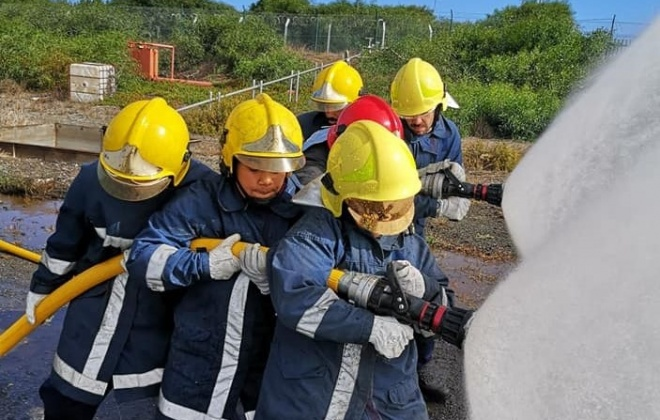 Bombeiros de Sines realizaram formação nas instalações da APS
