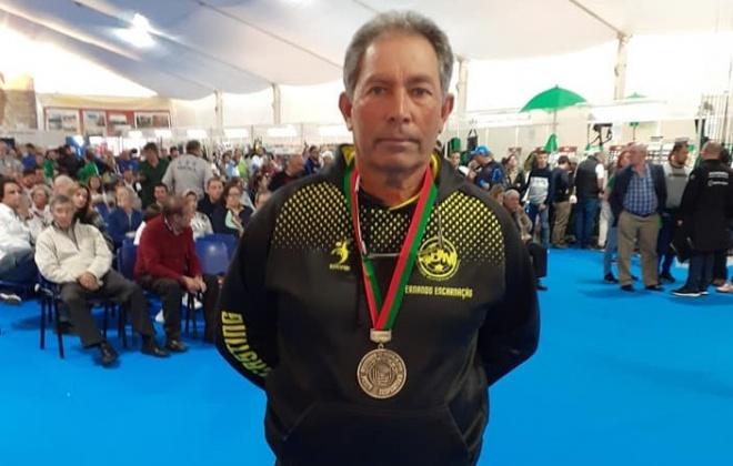 Fernando Encarnação em 3.º lugar na 1.ª divisão de Pesca Desportiva