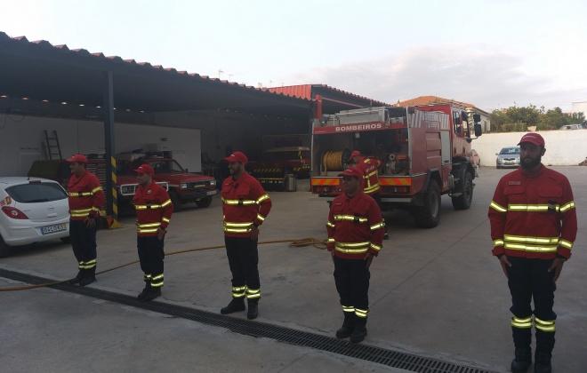 Aljezur conta com cinco novos bombeiros de 2.ª
