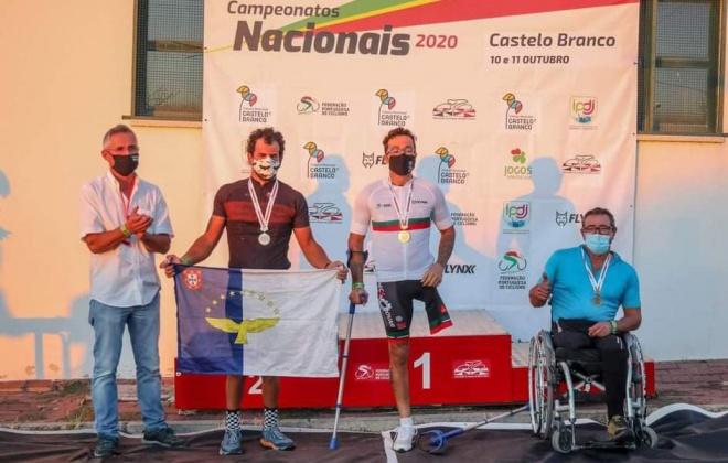 Flávio Pacheco conquista mais um título de campeão nacional de fundo