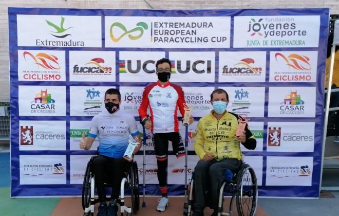 Flávio Pacheco está a participar numa prova em Espanha este fim de semana