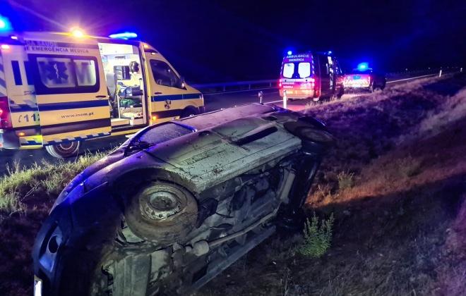 Despiste provoca dois feridos ligeiros em Grândola