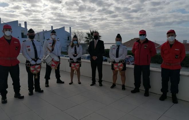 Bombeiros de Sines presentes no Dia do Município