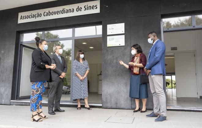 Associação Caboverdiana inaugurou GIP de Sines