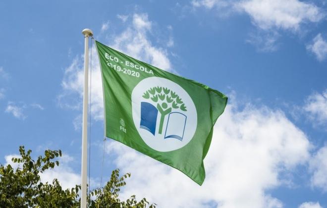 Bandeira Verde hasteada no Agrupamento de Escolas de Sines