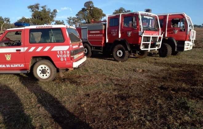 Bombeiros do Litoral Alentejano reforçados para o combate a incêndios florestais