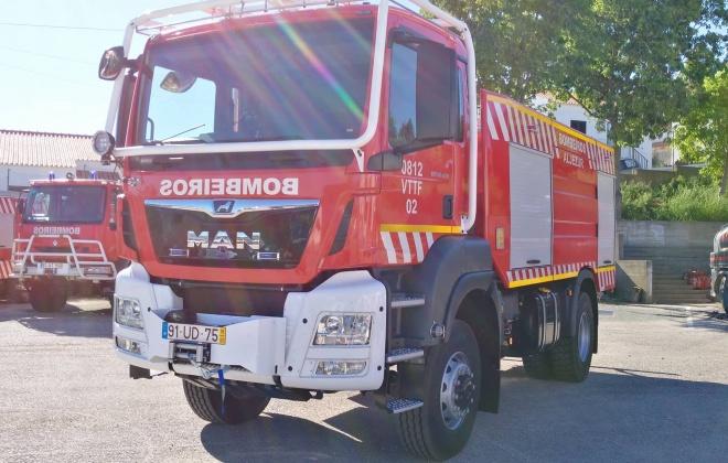 Bombeiros de Aljezur preparados para o combate a incêndios florestais