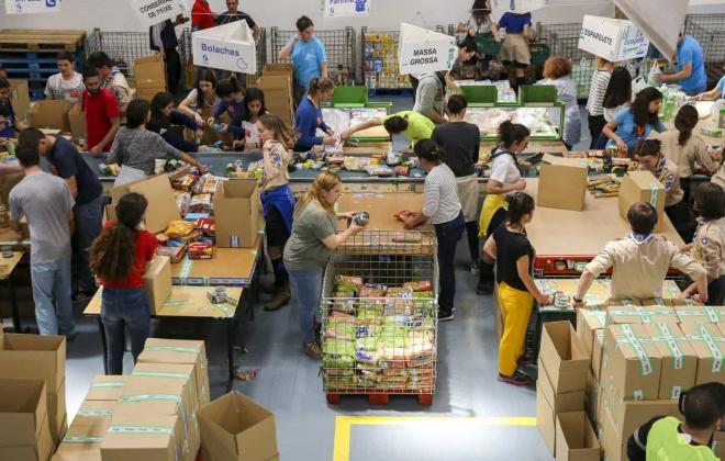 Covid-19: Várias entidades apoiam Banco Alimentar com 800 mil euros