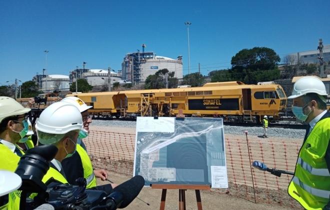 Investimento de 16,8 milhões de euros duplica capacidade ferroviária do Porto de Sines