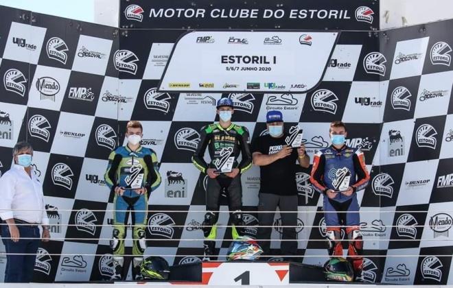Piloto Pedro Fragoso vence no Estoril e Pedro Matos termina em terceiro lugar