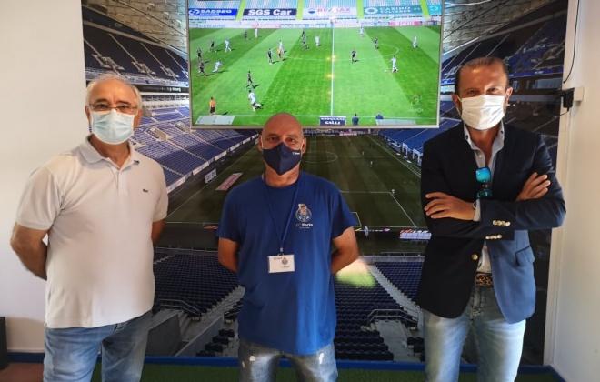 Casa do Futebol Clube do Porto abriu esta tarde em Vila Nova de Santo André