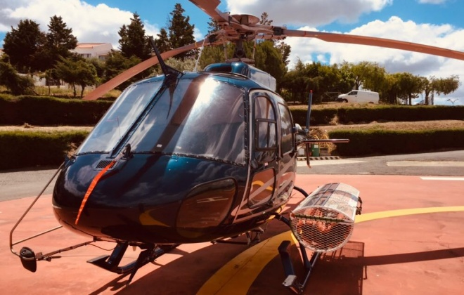Helicóptero de combate a incêndios rurais já está em Ourique
