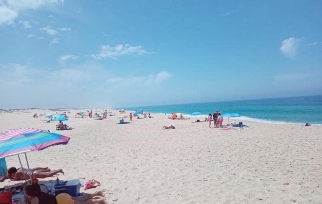 Praias do Litoral Alentejano com capacidade para 36.600 pessoas