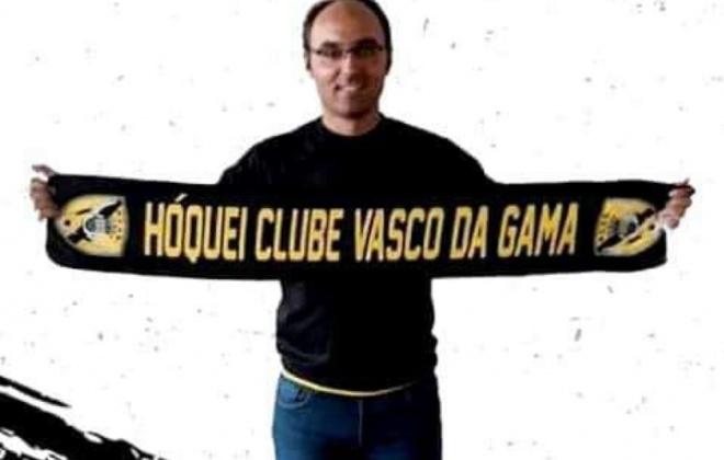 Treinador Nuno Martins deixou o H.C. Vasco da Gama