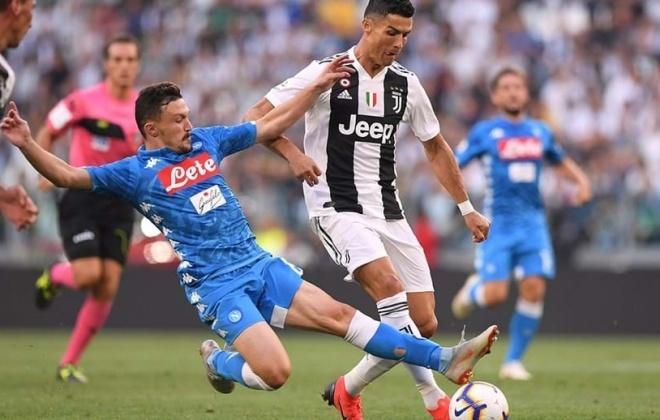 Siniense Mário Rui vence a Taça de Itália frente a Cristiano Ronaldo
