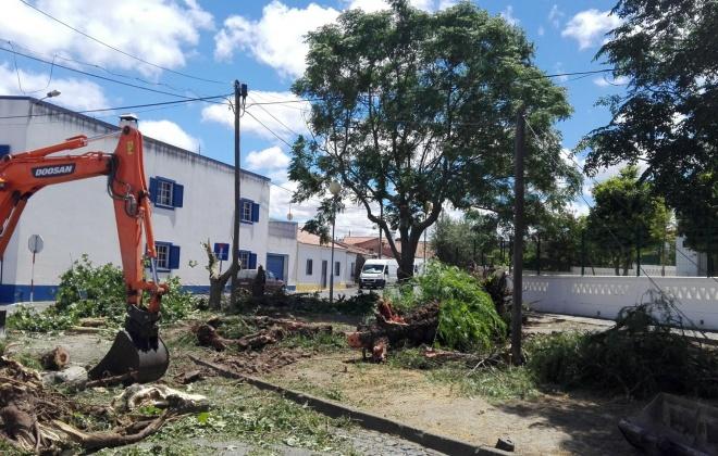 Município de Ferreira do Alentejo está a requalificar espaço em Figueira de Cavaleiros