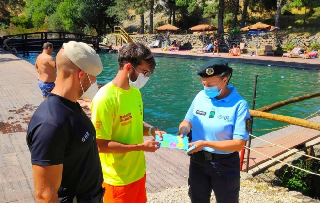 GNR alerta para os riscos de afogamento em piscinas