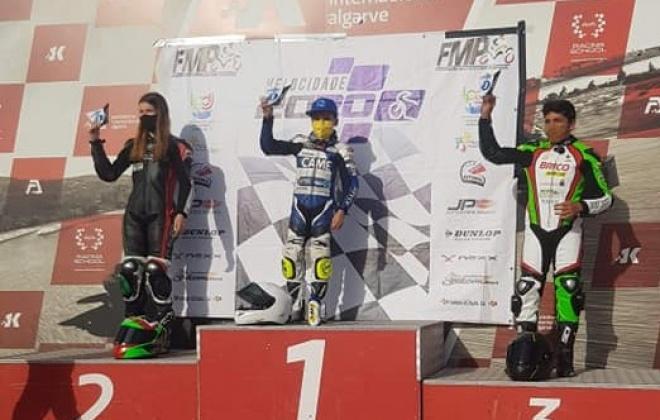 Piloto Martim Jesus conseguiu o 3.º lugar em Portimão