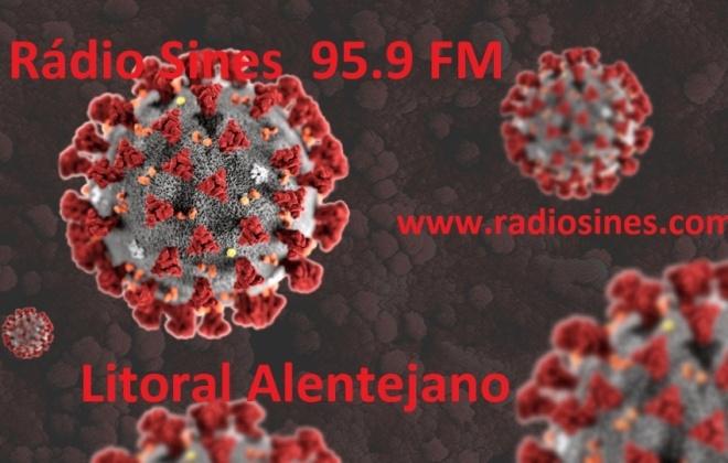 Litoral Alentejano regista 8 novos casos ativos e 17 casos recuperados de Covid-19