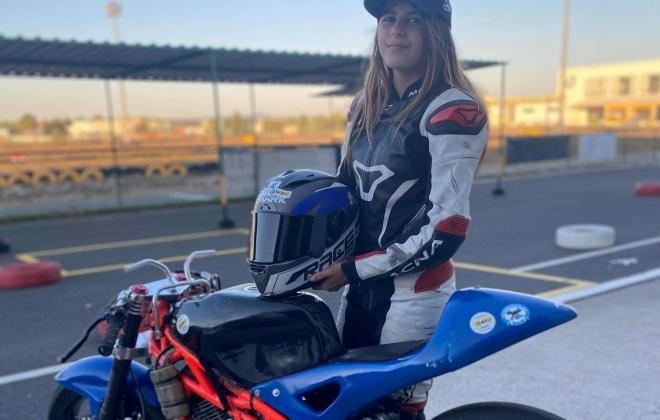 Bárbara Magro é uma jovem piloto de Vila Nova de Santo André