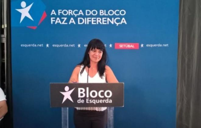 Deputada Sandra Cunha, do BE visita Alvalade e Santiago do Cacém