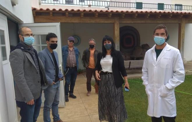 Deputada do BE visitou o concelho de Santiago do Cacém