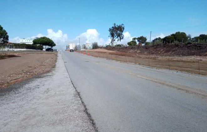 Já reabriu ao trânsito a ligação entre a Estrada do Encalhe e a rotunda do Porto de Recreio