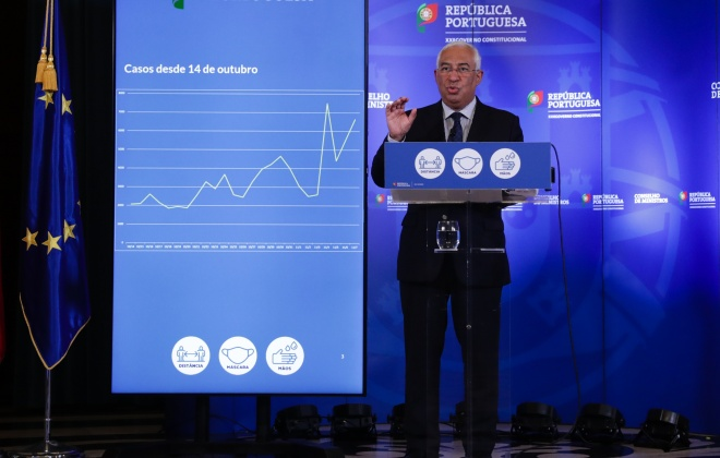 Covid-19: Governo vai reavaliar impacto das medidas dentro de duas semanas – Costa
