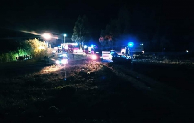 Colisão provoca um ferido na Ribeira da Azenha, Vila Nova de Milfontes